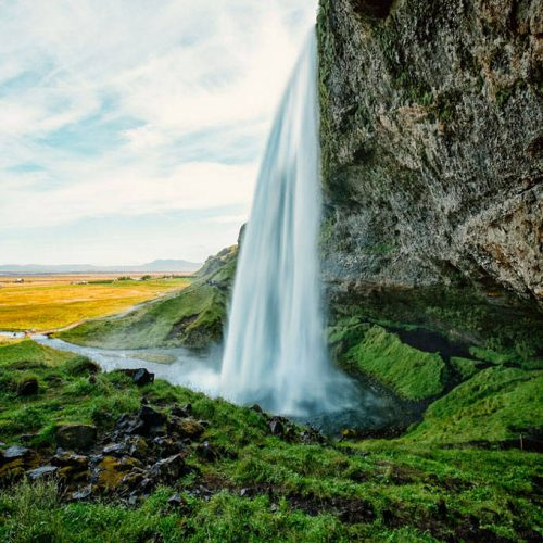 iceland, island, waterfall, wasserfall, fine art photography, thomas menk, photography,