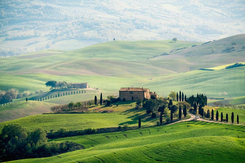tuscany, toscana, Val d'Orcia, Orciatal, frühling, spring, Crete Senesi, fine art photography, thomas menk, photography,