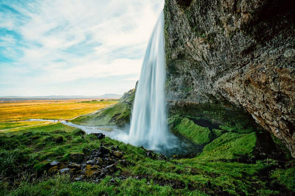 iceland, island, waterfall, wasserfall, fine art photography, thomas menk, photography,